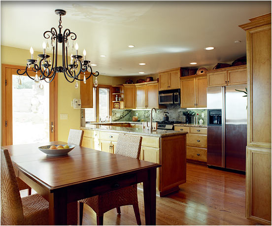 Kitchens open to dining room home decoration club for Kitchen remodel open to dining room