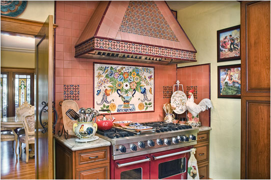 Practical And Artistic Kitchen