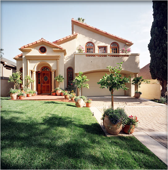 Mediterranean architectural design