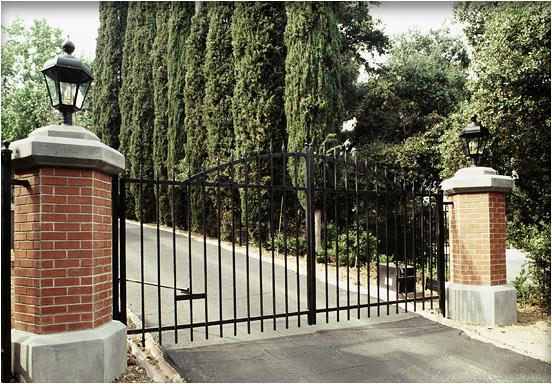 gates and pillars