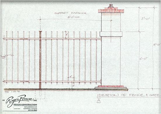 gate study, pillar design #1