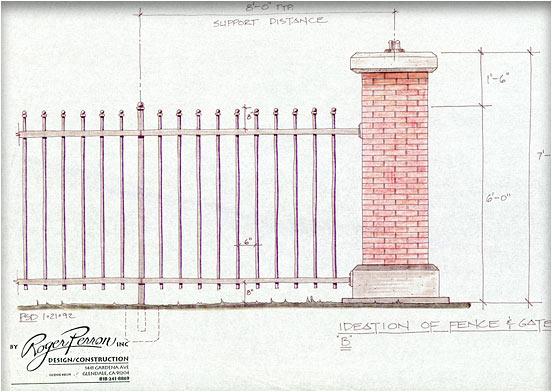 gate study, pillar design #2