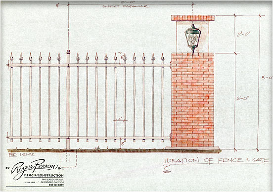 gate study, pillar design #3
