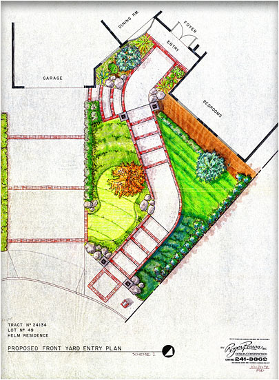 colored design plan
