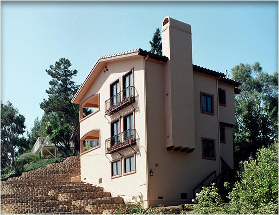 Mediterranean architectural style home